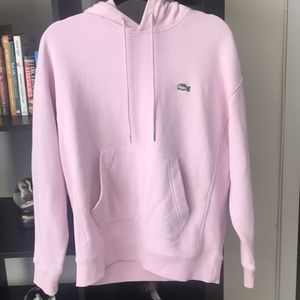 Lacoste Pink Unisex Hoodie